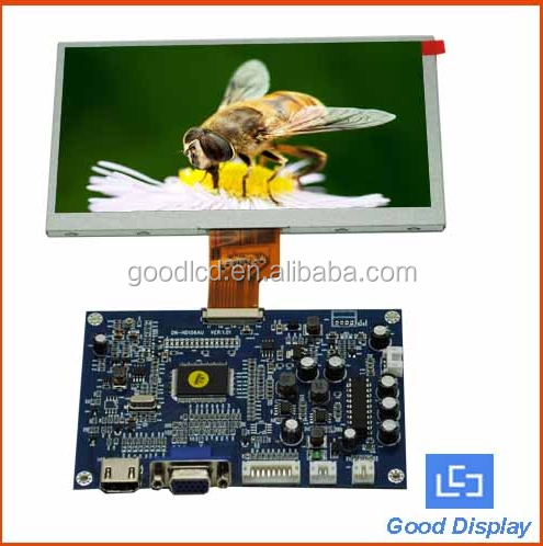 HD car TV 8 inch Digital LCD monitor 1024X768 VGA input RS232 interface