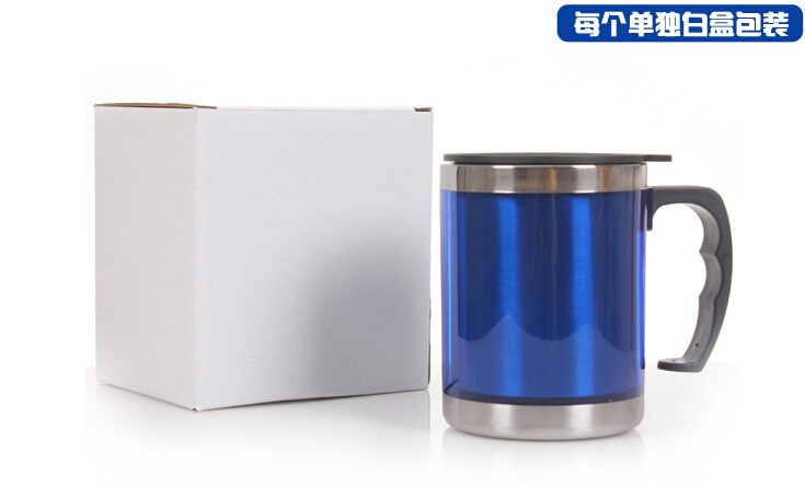 Stainless steel tumbler wholesale/Custom coffee mugs with handle