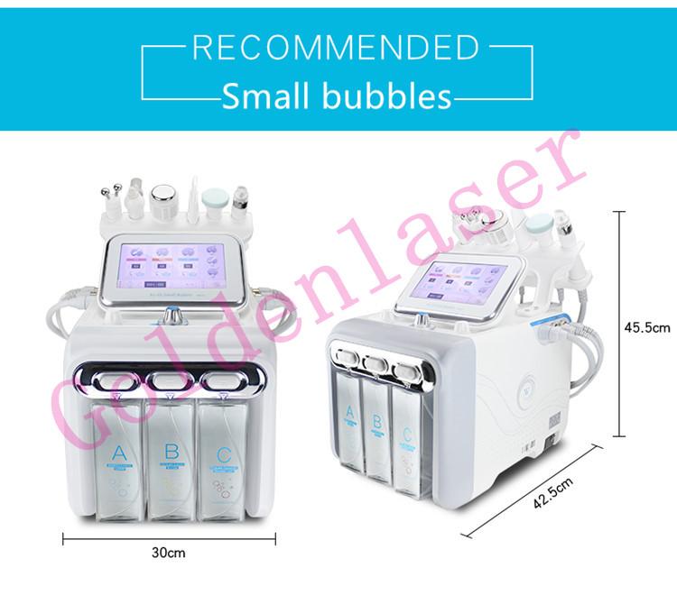 ほとんど人気 H2O2 hydrafacials 6 1 で皮膚治療機