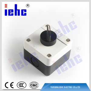 XAL series 2 position rotary return selector push button switch control station box