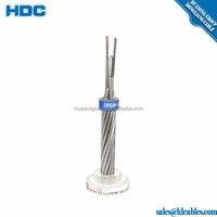 Overhead Use Aluminum Alloy Wires 16 core OPGW 24 48 fiber optic cable