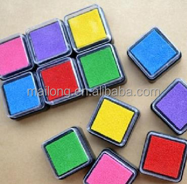 Water-based environmental protection small ink pad 6 color color ink pad inkpad inkpad pn5347