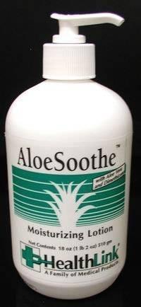 7750 Part# 7750 - Lotion Moisturizing Aloesoothe 18oz Pump Ea By Healthlink