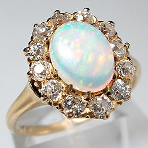 london uk blue aura icon gold astley opal solid ring rose clarke