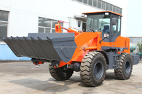 Supplying equipment 2.8 ton wheel loader for moving and storing materials