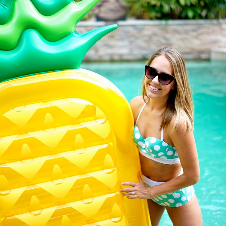 Pineapple Float,pool floats Inflatable Pineapple Tropical Summer Pool Floats For Adults Outdoor Swimming Pool Large Floaties