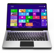 Nieuwe platte screen volledige glas 14.1 inch full Metal Netbook Apollo celeron N3350 ultra slanke laptop