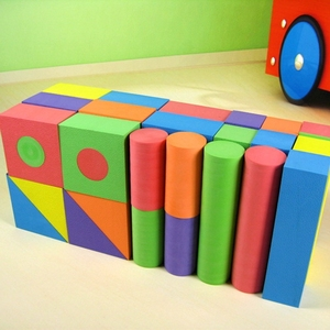 Creativity piece soft toy blocks Eva foam building blocks