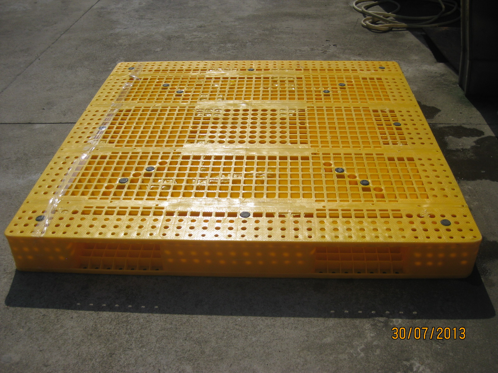 Custom logo agriculture foldable plastic pallet bins With Good Service