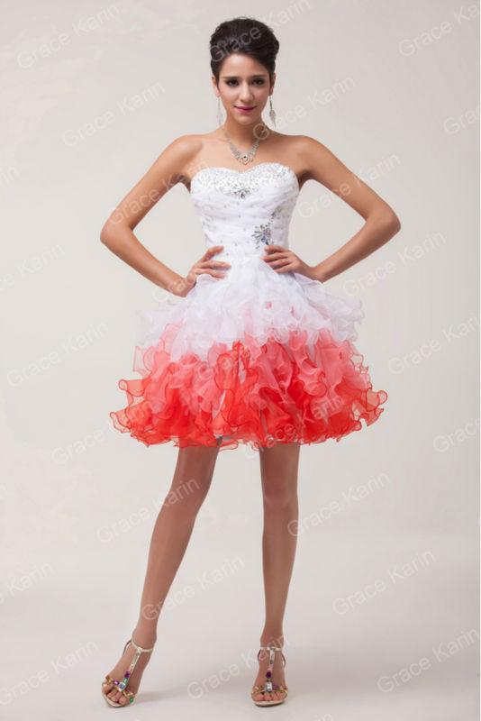 robe soiree blanche et rouge la mode des robes de france. Black Bedroom Furniture Sets. Home Design Ideas