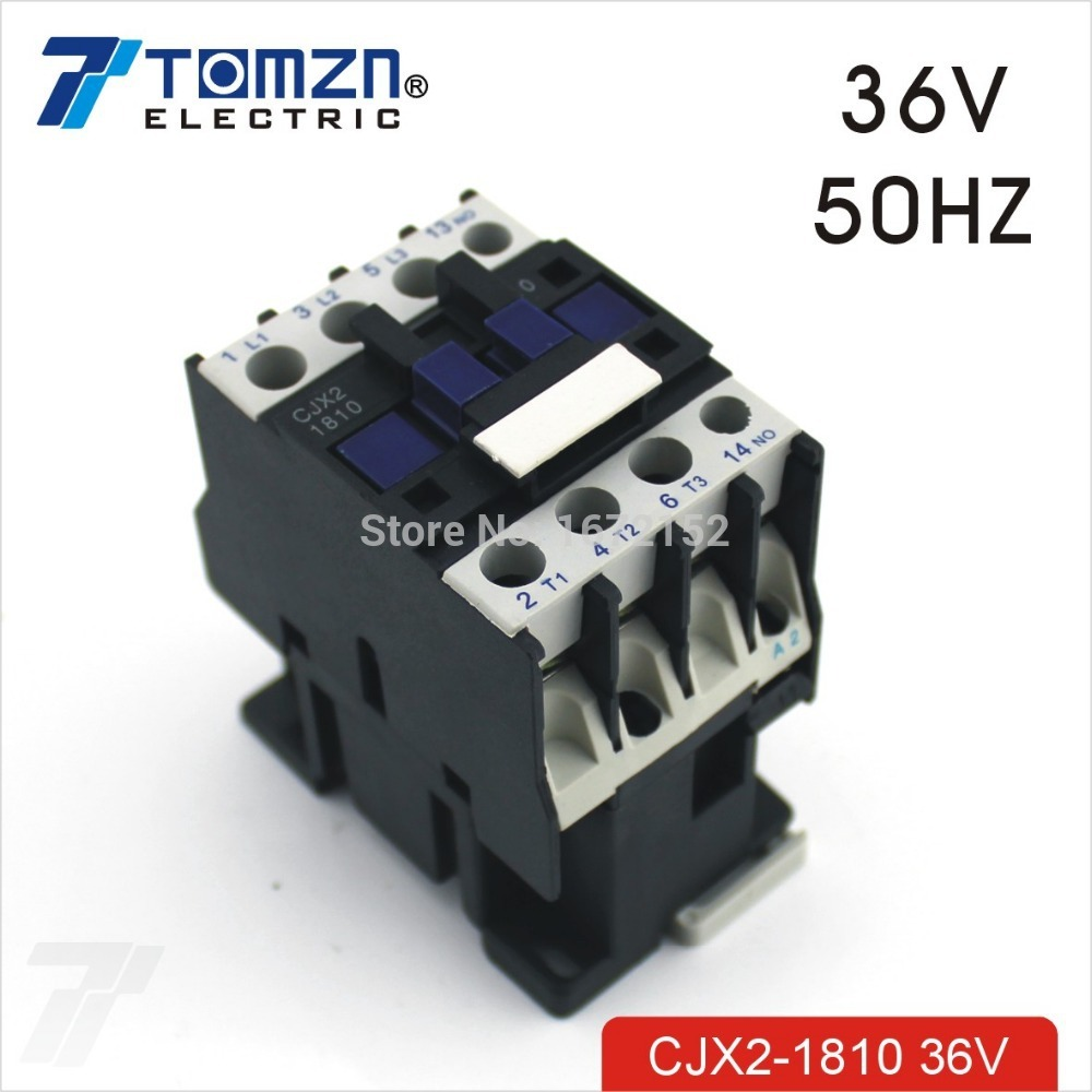 Cjx2 1810 Ac Contactor Lc1 18a 36v 50hz - Buy Household Ac Contactor  Product on Alibaba.com