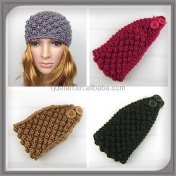Fashion Women Hair Accessorieskids Winter Headbandhandmade Knit