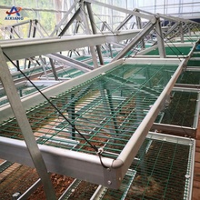 Greenhouse rolling seedbed/rolling benches