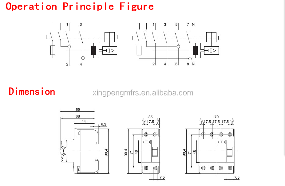 F F Rcdrccbrcbelcbcircuit Breaker Pa Ma Rccb - Elcb wiring diagram drawing