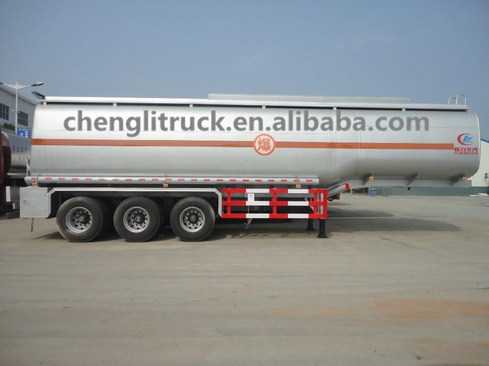 Hot Sale Tri Axle 40,000 Liters/40cbm/40m3 Petrol Tank Trailer ...