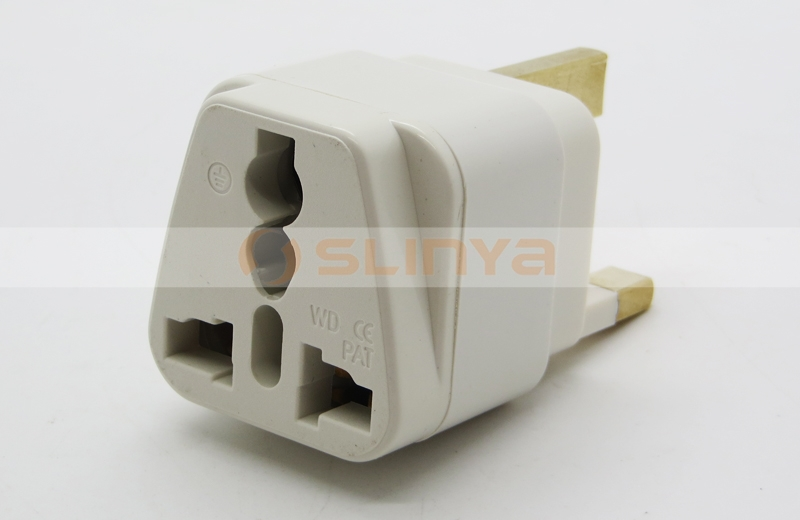 Uk 3 Pin Plug With Fuse,Grounded Universal Plug Adapter Type G For ...