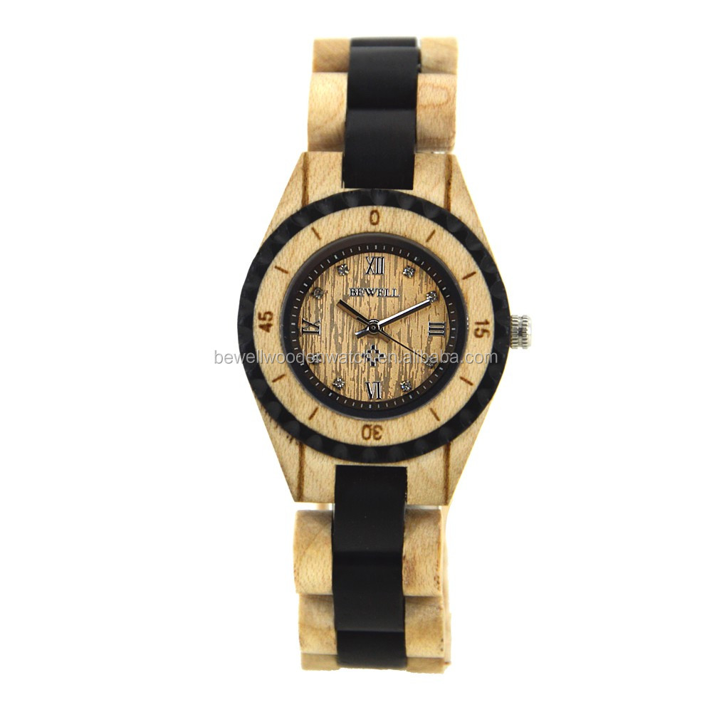black for watch sandalwood custom men made and ebony watches wood personalized by ambici handmade buy