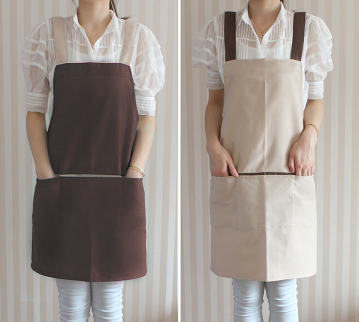 printed logo eco adult or kids children chef kitchen cotton apron