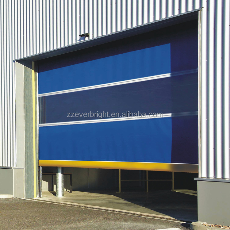 Safe high Speed Fast Roller Shutter Door of PVC
