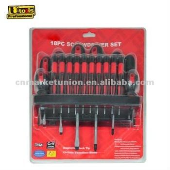 18pc chrome vanadium screwdriver set buy screwdriver set optical screwdrive. Black Bedroom Furniture Sets. Home Design Ideas