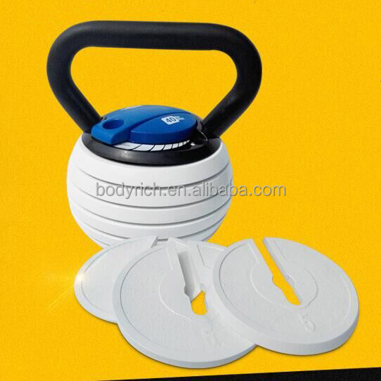 Fitness Adjustable Kettlebell Weight Strength Building/Training Kettle Bell