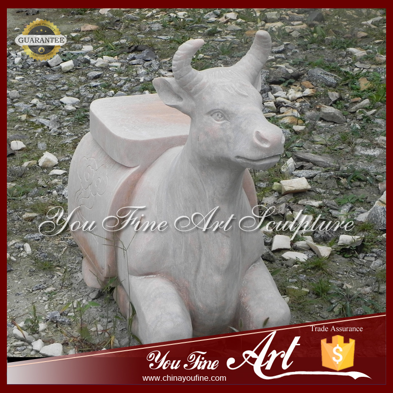 Twelve Chinese Zodiac Animal Cow Bench For Sale