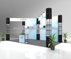Factory Supply show booth fair with LED light