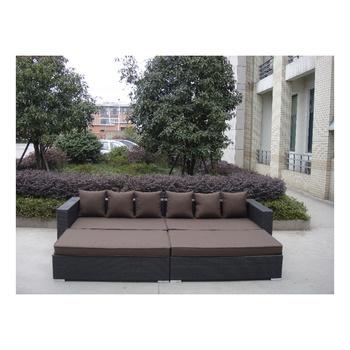 Mobel Livingroom Rattan Garden Furniture Sofa Set