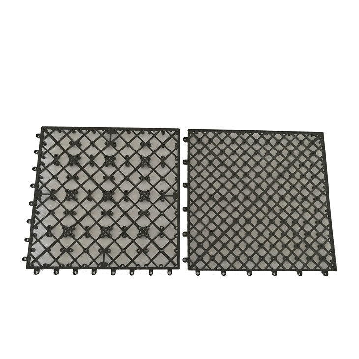Professional manufacturer DIY outdoor tile Interlocking plastic base