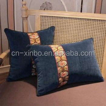 Hand Work Ribbon Embroideryribbon Embroidery Cushion Covers