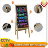 New neon flashing alibaba express high quality top ten supplier electronic wooden led writing board