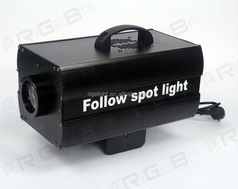 cheap mini 150w led RGBW follow spot light 3200K-6500K sharp narrow beam 23 degree led stage spot light