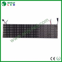 RGB apa102 flexible led matrix black pcb 8x32 pixel pitch 10mm led display