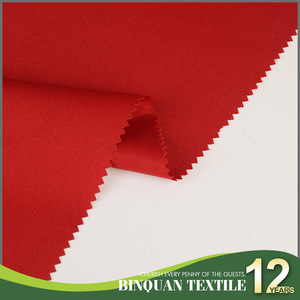 Customized dyed in stock uniform gabardine 100%polyester twill fabric