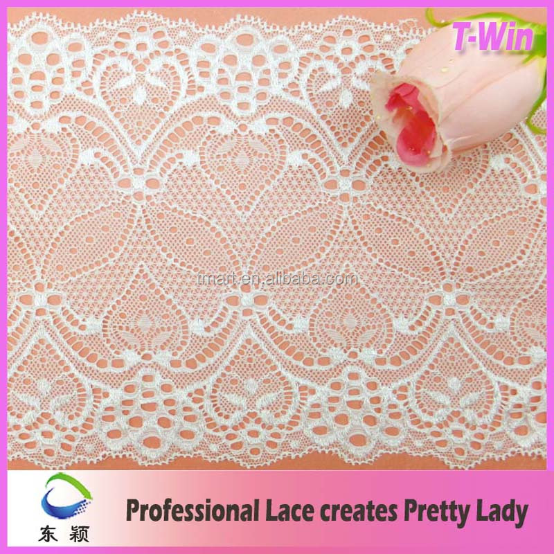 18cm Stretch bra Lace elastic Band spandex lace for Lingerie
