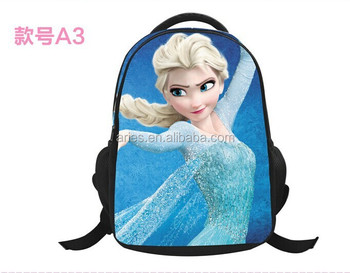 69e35a3f475 Frozen Elsa and Anna Olaf kids girls boys backpack for children school bags