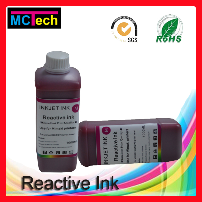 Magiccolor best products for import dx5 dye reactive ink for roland printer, digital textile printing