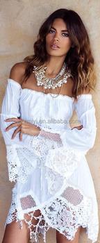 Hippie Boho Bohemian Gypsy Style White Dress Buy Sexy Gypsy