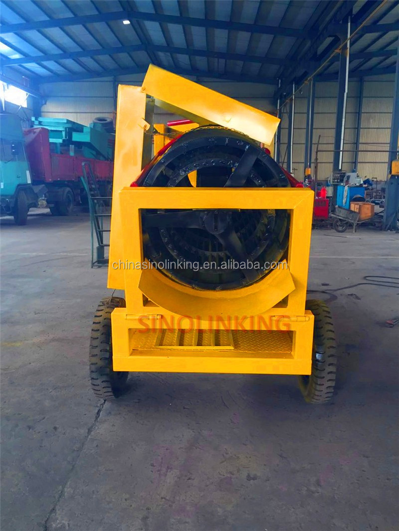 Mini Wash Plant : Sinolinking portable movable mini trommel wash plant for