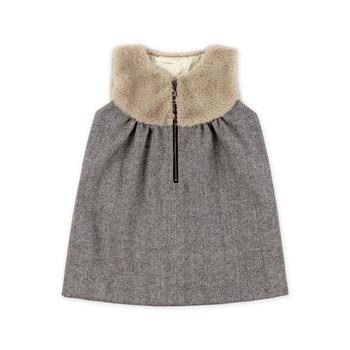 6eea4b152 Winter Baby Girls Special Design Kids Waistcoats Outerwear Infant ...