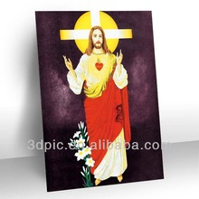 china wholesale 3d oil painting picture of jesus christ