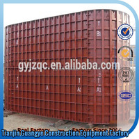 china manufacturer conventional formwork/concrete wall metal forms