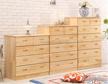 wooden 3.4.5.6.7 drawers cabinet/chest for living furniture