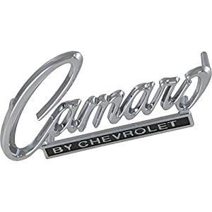 Eckler's Premier Quality Products 33373340 Camaro Header Panel Emblem Camaro By Chevrolet
