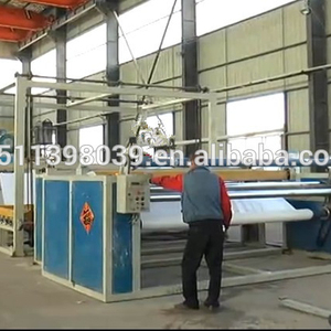 Qingdao 1200-1500kg/h automatic production line for PVC flex banner/tarpaulin/waterproof making machine