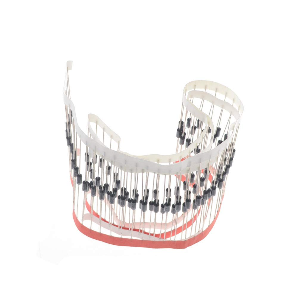 ALLPARTZ 100PCs FR104 Rectifier 1A 400V DO-41 Fast Recover Rectifier Diodes(FR104)