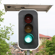 ODM Bespoke Solar Powered Three Four Five Way Portable LED Stop Traffic Signal Lights