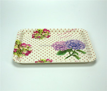 Normal communion swirl dinnerware plastic serving tray/Custom PP tray