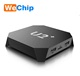 Amlogic S905X Quad-Core android 7.1 smart tv box u2+ set top box fly box iptv receiver