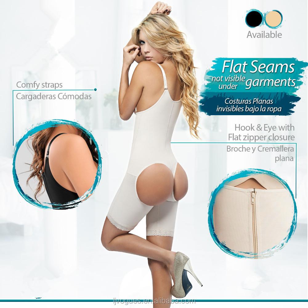 Hot Sale! Women's Shapewear butt lifter full perfect Body Shapers Plus Size body sliming clothing 3